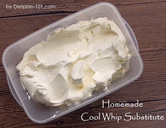 Homemade Cool Whip Substitute