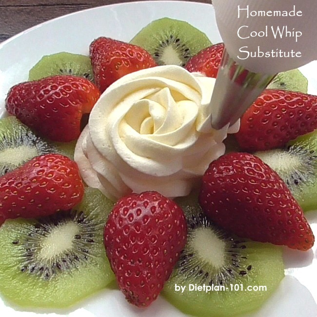 How to: Homemade Cool Whip Substitute